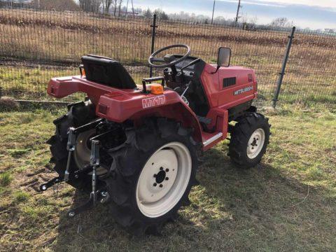 Mitsubishi 4WD compact tractor MT17