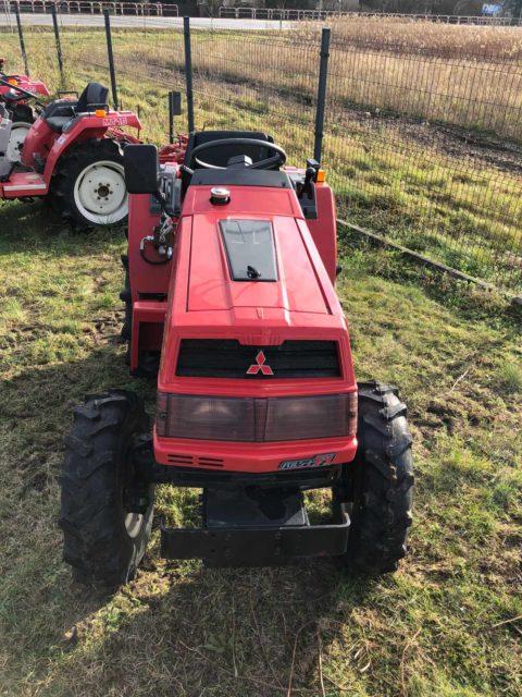 Mitsubishi mini tractor