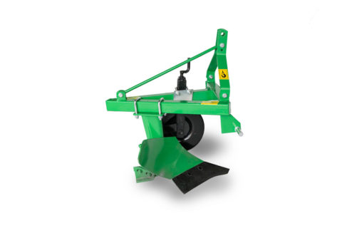 Single furrow plough
