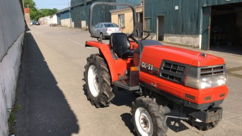 GL21 compact tractor
