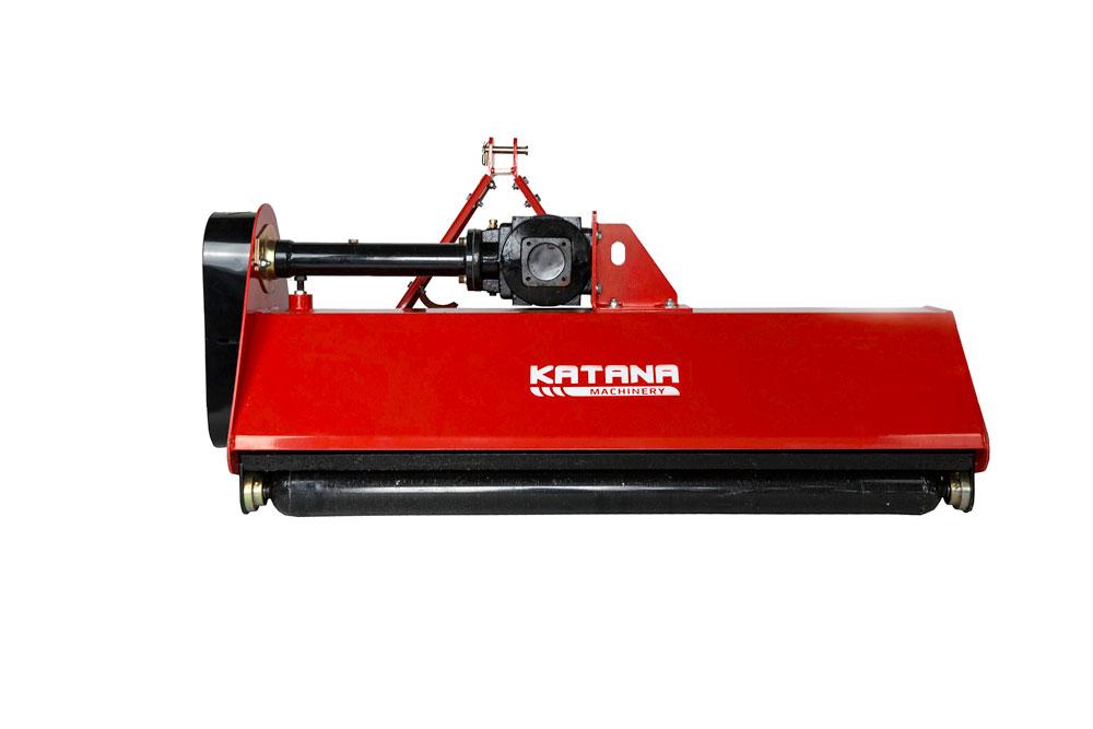Heavy Duty Flail Mower 4ft - KATANA Machinery - Compact Tractors Ireland