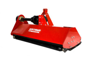 Heavy duty flail mower for compact tractor