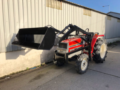 Yanmar FX30S compact tractor with front end loader