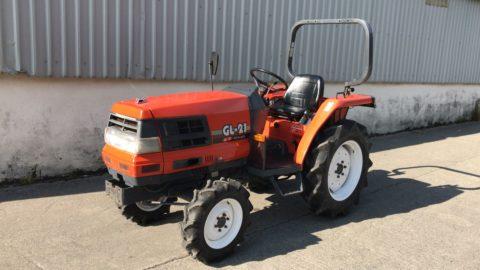 Kubota small tractor power steering