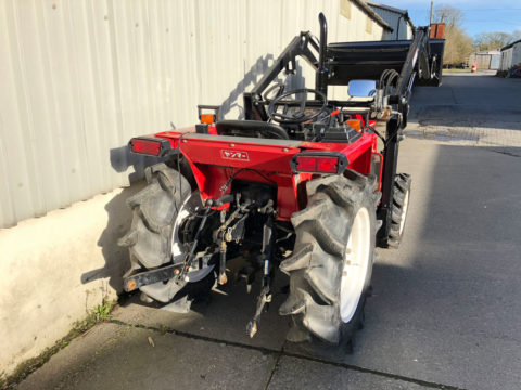 Yanmar F20D 3-point hitch
