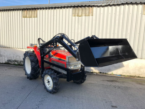 Yanmar FX30S compact tractor with front loader Ireland