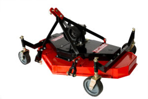 Finishing mower for compact tractor