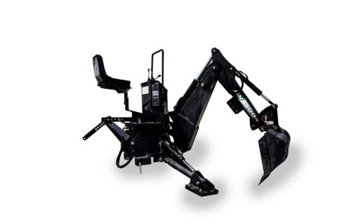 BE210 backhoe for compact tractor