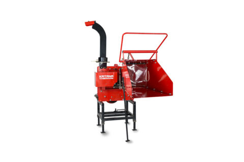 Compact tractor wood chipper