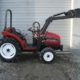 16HP mitsubishi compact tractor with front loader