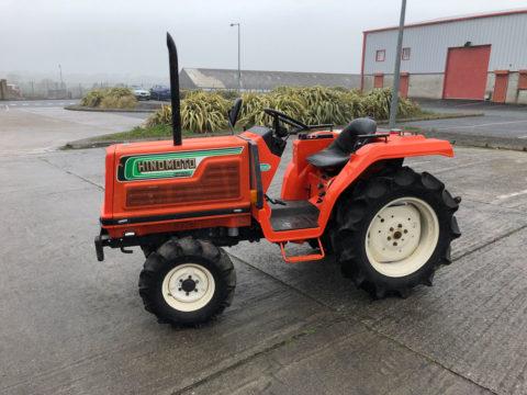 Small hinomoto tractor