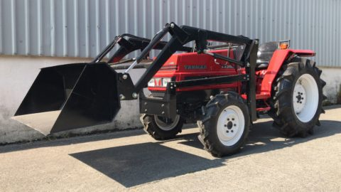 Yanmar 30 HP compact tractor with loader
