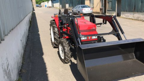 Yanmar tractor with front loader