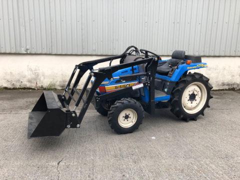 Iseki small tractor