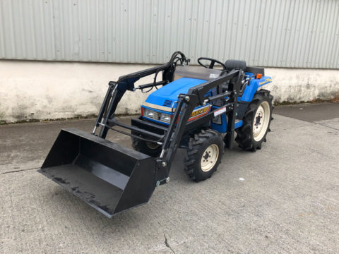 Iseki TU175F with front loader