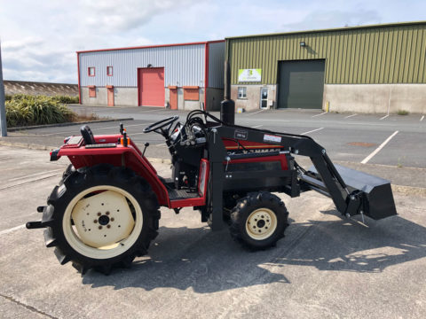 Yanmar 18HP tractor with front loader