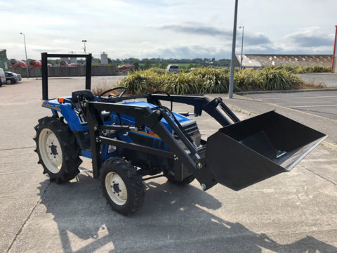 Iseki compact tractor with new loader