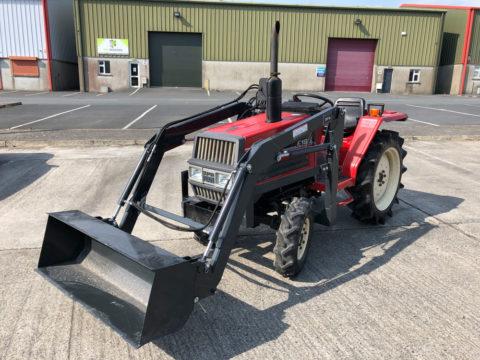 Yanmar 18HP compact tractor
