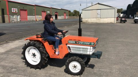 Compact tractors and attachments for sale in Ireland